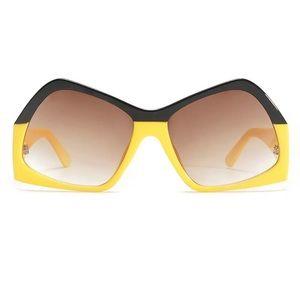 Accessories - Oversized Sunglasses Fashion Futuristic Sunglasses